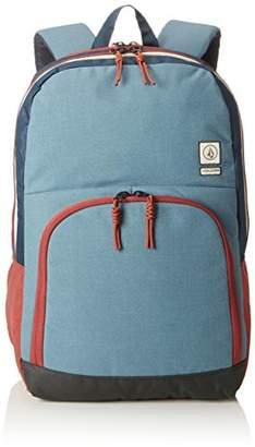 Volcom Roamer Backpack Rucksack, Unisex Adults' Backpack, Blau (Ash Blue), 16x32x47 cm (B x H T)