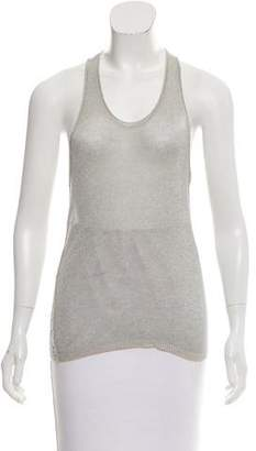 Inhabit Metallic Sleeveless Top