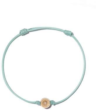 Shamballa Jewels 18kt rose gold and diamond Orb bracelet
