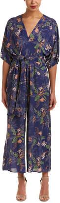 En Creme Floral Jumpsuit