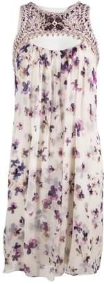 Carolina Herrera White Silk Dresses