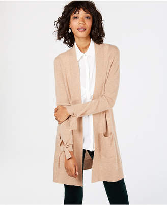 Charter Club Pure Cashmere Open-Front Cardigan, in Regular & Petite Sizes