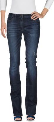 Elisabetta Franchi Denim pants - Item 42580487FV