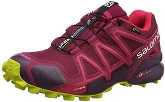 Salomon Women's Speedcross 4 GTX W Trail Running Shoes,4 36 2/3 EU