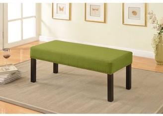US Pride Furniture U.S. Pride Furniture Nail Trim Decorative Bench