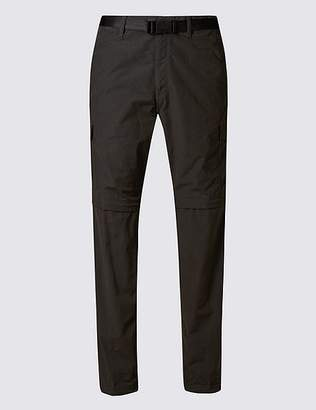 Marks and Spencer Big & Tall Trekking Trousers with Belt