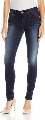 True Religion Women's Jennie Curvy Skinny Jean in Native Ora Clean, Aura
