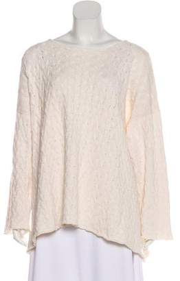 eskandar Oversize Cable Knit Sweater