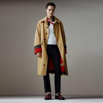 Burberry Bonded Cotton Oversized Seam-sealed Car Coat