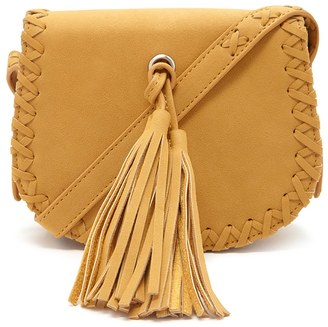 FOREVER 21 Tasseled Faux Leather Crossbody $22.90 thestylecure.com