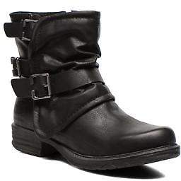 Dockers Women's Trice Zip-Up Ankle Boots In Black - Size Uk 3.5 / Eu 36