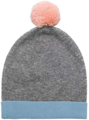 Parker Chinti & pom pom beanie hat