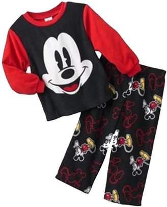 Disney Toddler Boy's MICKEY MOUSE Fleece Pajama Pants Set