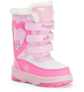 Peppa Pig Toddler Girls' Water-Resistant Winter Boots $49.99 thestylecure.com