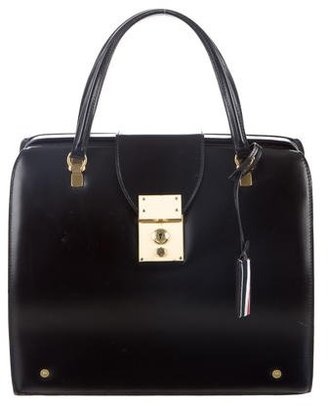 Thom Browne Mrs. Thom Doctor Bag $995 thestylecure.com