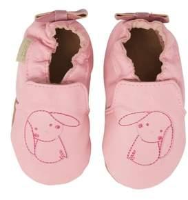 Robeez R) Sweet Bunny Moccasin Crib Shoe