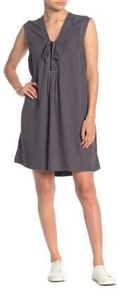 Splendid Lace-Up Sleeveless Dress