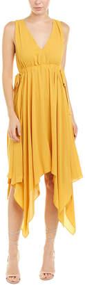 BCBGMAXAZRIA Handkerchief Shift Dress