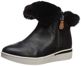 Gentle Souls Women's Hazel-Levitt Shearling Lined Sneaker Bootie Ankle Boot
