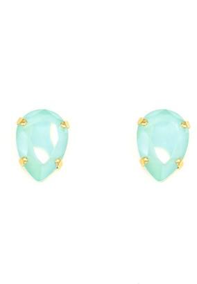 Rosaspina Firenze Mint Green Drop Stud Earrings