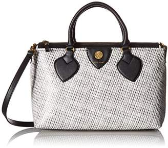 Anne Klein Straight up Medium Satchel Snake