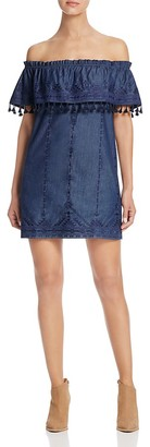 Parker Jeanette Off-The-Shoulder Dress - 100% Exclusive $298 thestylecure.com