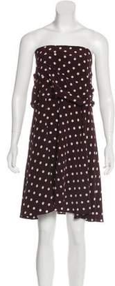 Veronica Beard Silk Tube Dress