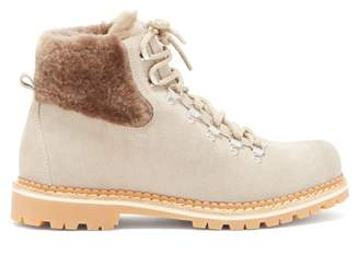 BEIGE Montelliana - Camelia Suede Boots - Womens