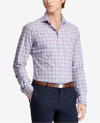Polo Ralph Lauren Men's Slim Fit Floral-Print Shirt