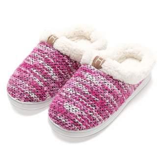 Fly London HAWK Womens Memory Foam House Slippers Wool-Like Plush Fleece Indoor Shoes
