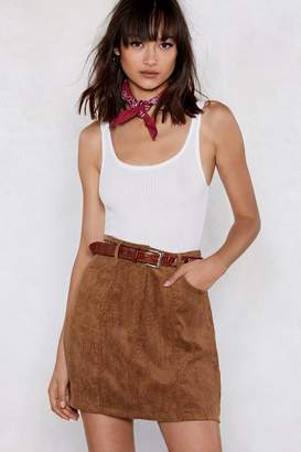 Nasty Gal Cord of You Mini Skirt