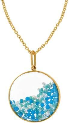 Moritz Glik Two Tone Turquoise Shaker Necklace