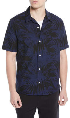 Vince Men's Palm Leaf Cabana Shirt