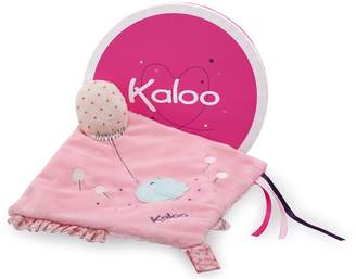 Kaloo Petite Rose Doudou Sweet Activity Plush Toy with Pacifier Holder