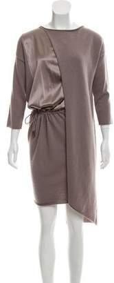 Fabiana Filippi Long Sleeve Sweater Dress