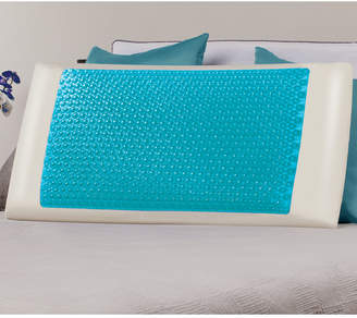 Comfort Revolution Cool Comfort Hydraluxe King Pillow, Gel & Custom Contour Open Cell Memory Foam