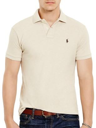 Polo Ralph Lauren Mesh Slim Fit Polo Shirt $85 thestylecure.com