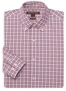 Michael Kors Micro Check Dress Shirt