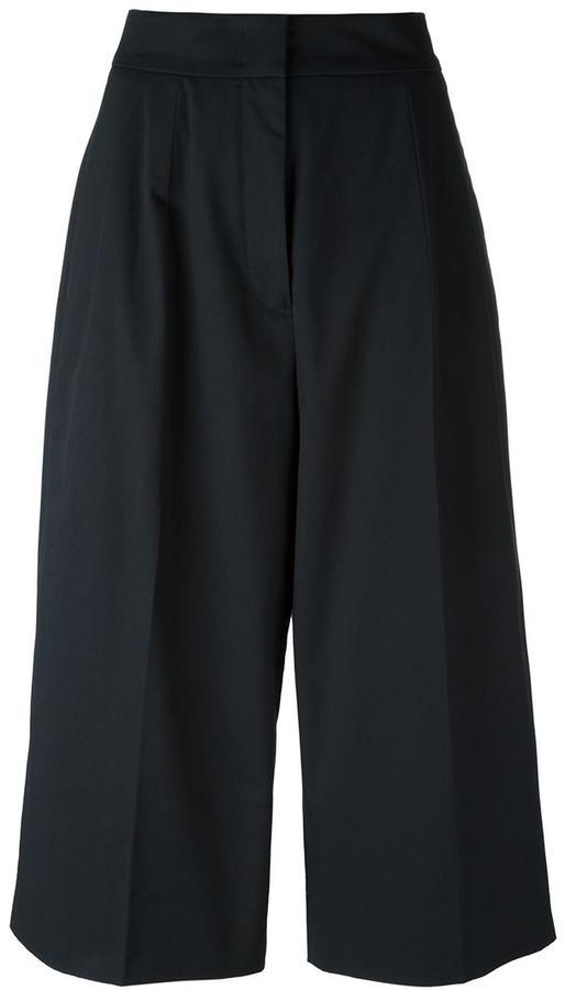 Jil SanderJil Sander wide-legged cropped trousers