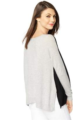 Autumn Cashmere Pea Collection Reversible Maternity Sweater