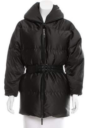 Ralph Lauren Belted Puffer Coat