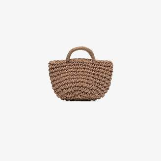 REJINA PYO Rose basket bag