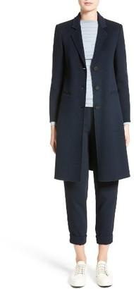 Women's Armani Collezioni Double Face Cashmere Coat $2,995 thestylecure.com