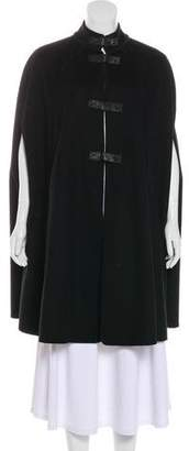 Tory Burch Wool Knee-Length Cape