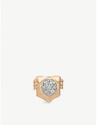 The Alkemistry Kismet By Milka Leo 14ct rose gold stud earring