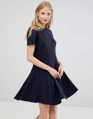 Deby Debo Alina Knit Skater Dress