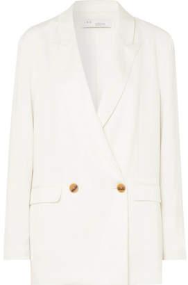 IRO Caring Oversized Crepe Blazer - White