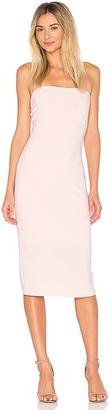 Norma Kamali x REVOLVE Strapless Dress in Blush $110 thestylecure.com
