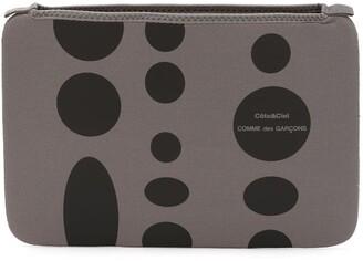 Comme des Garcons Wallet x Côte&Ciel polka dot iPad case