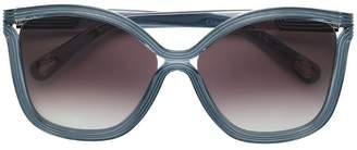 Chloé Eyewear oversized frame sunglasses